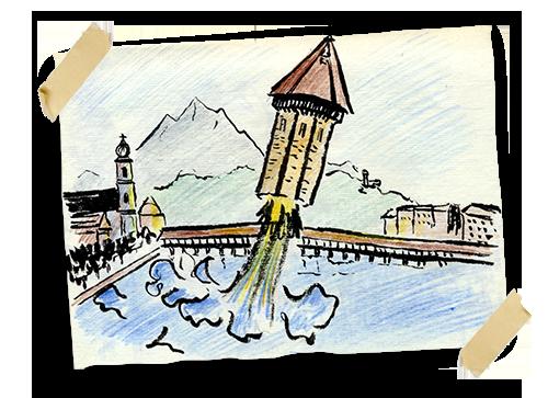 croquiswasserturm